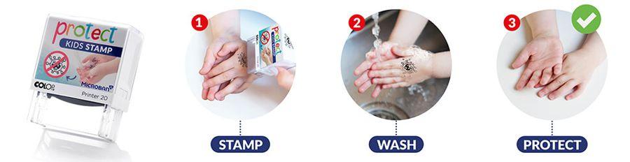 Kids Protect Stamp